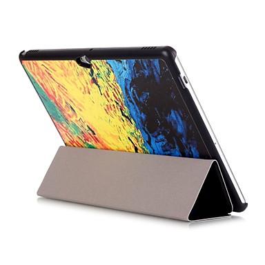 케이스 제품 Huawei 전체 바디 케이스 태블릿 케이스 패치 워크 하드 PU 가죽 용