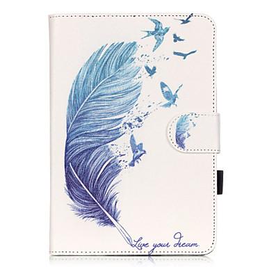 Case Kompatibilitás Apple iPad Mini 3/2/1 Kártyatartó Állvánnyal Minta Héjtok Más Puha PU bőr mert iPad Mini 3/2/1 Apple