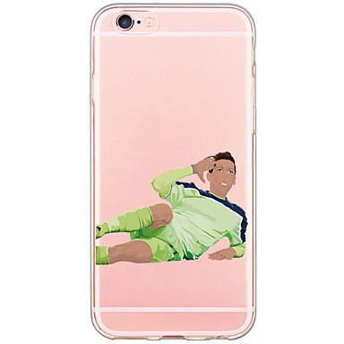 Mert iPhone 6 tok / iPhone 6 Plus tok Átlátszó / Minta Case Hátlap Case Rajzfilmfigura Kemény PC AppleiPhone 6s Plus/6 Plus / iPhone 6s/6