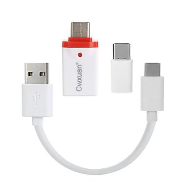 CE - Link ™ USB 3.1 tip C-USB 3.1 tip C / Micro USB tip B / USB 3.0 0,25M (0.8ft)