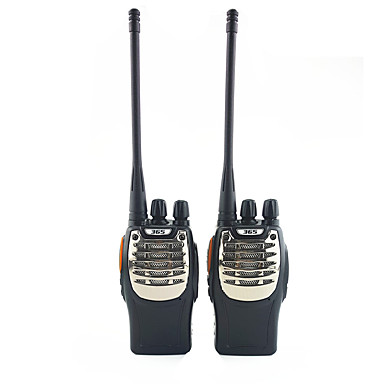 핸드헬드 비상 알람 PC 소프트웨어 프로그램 작동 가능   음성 지원 소리 암호화 배터리 충전 알림 고&저 전력 전환 우선 채널 스캔 타임아웃 타이머 CTCSS/CDCSS 전류반전 3KM-5KM 365 3KM-5KM 2개 워키 토키 양방향 라디오