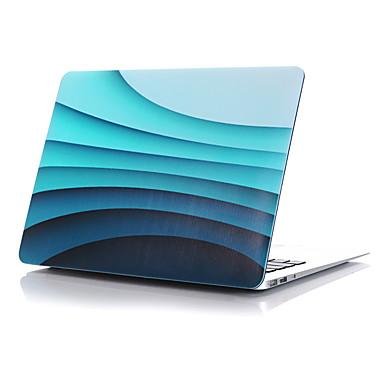 MacBook 케이스 용 전체 바디 케이스 웨이브 플라스틱 MacBook Pro 15인치 MacBook Air 13인치 MacBook Pro 13인치 MacBook Air 11인치 Macbook MacBook Pro 15인치 레티나 MacBook