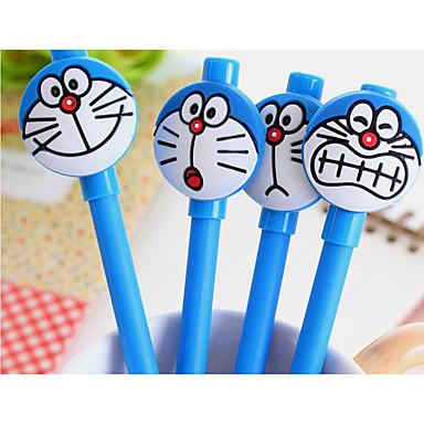 Gel Pen Toll Gél tollak Toll Hordó Kék Ink Colors For Iskolai felszerelés Irodaszerek Csomag