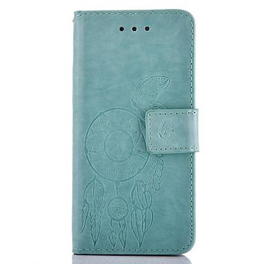 용 삼성 갤럭시 케이스 지갑 / 카드 홀더 / 스탠드 / 엠보싱 텍스쳐 케이스 풀 바디 케이스 버터플라이 하드 인조 가죽 Samsung Grand Prime / Core Prime