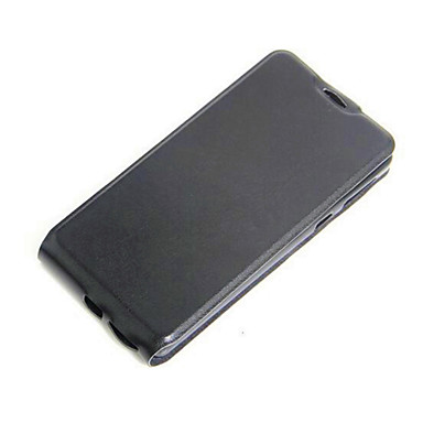 Kılıf Na Sony Sony Xperia XA Xperia XA Etui Sony Etui na karty Flip Pełne etui Solid Color Miękkie Skóra PU na Sony Xperia XA Sony Xperia