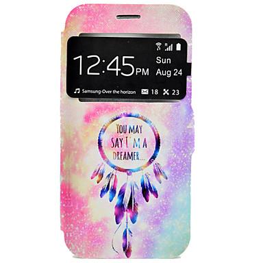Case Kompatibilitás Samsung Galaxy Samsung Galaxy S7 Edge Kártyatartó Állvánnyal Héjtok Álomfogó Kemény PU bőr mert S7 edge S7 S6 edge