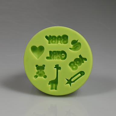 Narzędzia do pieczenia Silikonowy Ekologiczne / Nieprzylepny / New Arrival Tort / Ciasteczka / Cupcake Formy Ciasta