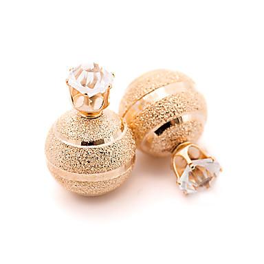 Damskie Vintage Słodkie Style Modny Europejski Posrebrzany Pozłacane Stop Zaokrąglanie Biżuteria Gold Silver Impreza Codzienny Casual
