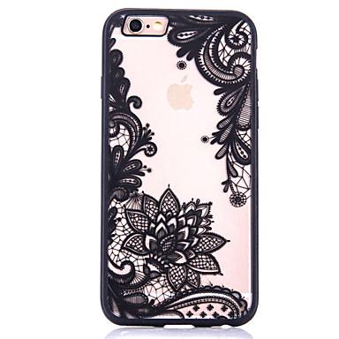용 패턴 케이스 뒷면 커버 케이스 꽃장식 하드 아크릴 Apple 아이폰 7 플러스 / 아이폰 (7) / iPhone 6s Plus/6 Plus / iPhone 6s/6 / iPhone SE/5s/5