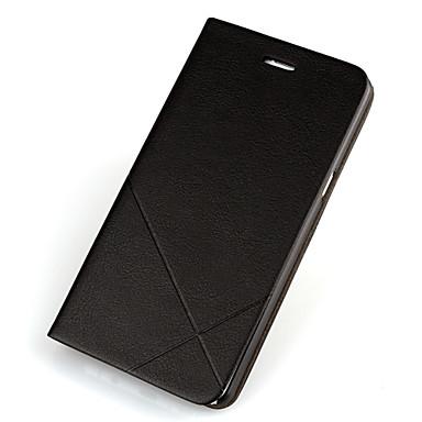 Недорогие Чехлы и кейсы для Galaxy A7-Кейс для Назначение SSamsung Galaxy A7(2016) / A5(2016) / A3(2016) Бумажник для карт / со стендом / Флип Чехол Однотонный Твердый Кожа PU