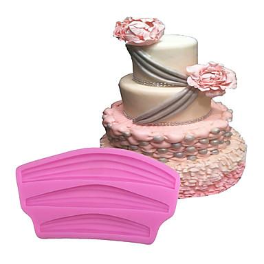 Formy Ciasta Lód Czekoladowy Pizza Placek Cupcake Ciasteczka Tort Chleb Silikonowy Ekologiczne DIY Wysoka jakość 3D Narzędzie do
