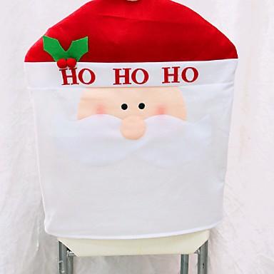 1db új érkezési karácsony székhuzatok 50 * 60 cm-es karácsonyi díszek navidad ADORNOS vacsora dekoráció szék szettek ajándék
