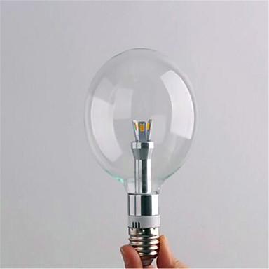 2700/6500lm E26 / E27 Żarówki LED kulki G80 3 Koraliki LED SMD 3528 Dekoracyjna Ciepła biel Zimna biel 220-240V