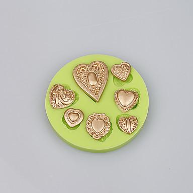 케이크 주형 얼음 초콜렛 Cupcake 쿠키 케이크 실리콘 환경친화적인 DIY 고품질 패션 베이킹 도구 케이크 장식 뜨거운 판매 새로운 도착 넌스틱
