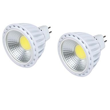 GU5.3(MR16) LED szpotlámpák MR16 1 led COB Dekoratív Meleg fehér Hideg fehér 450lm 3000/6000K DC 12V