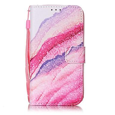 Mert Pénztárca / Kártyatartó Case Teljes védelem Case Látvány Kemény Műbőr AppleiPhone 7 Plus / iPhone 7 / iPhone 6s Plus/6 Plus / iPhone
