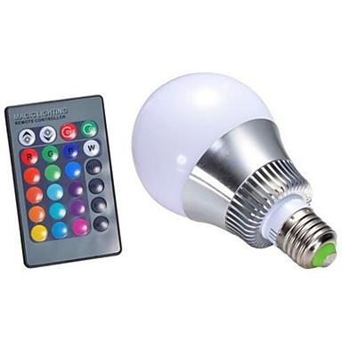 280-350lm E26 / E27 Inteligentne żarówki LED G95 1 Koraliki LED High Power LED Przysłonięcia Zdalnie sterowana RGB 85-265V