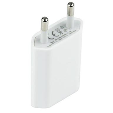 קיר מטען מתאמים / מטען הביתה / מטען נייד מטען USB eu כבל מטען 1 יציאת USB 1 עבור טלפון סלולרי