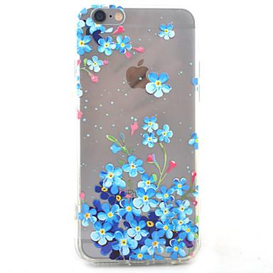용 아이폰7케이스 / 아이폰7플러스 케이스 / 아이폰6케이스 투명 / 패턴 케이스 뒷면 커버 케이스 꽃장식 하드 아크릴 Apple 아이폰 7 플러스 / 아이폰 (7) / iPhone 6s Plus/6 Plus / iPhone 6s/6