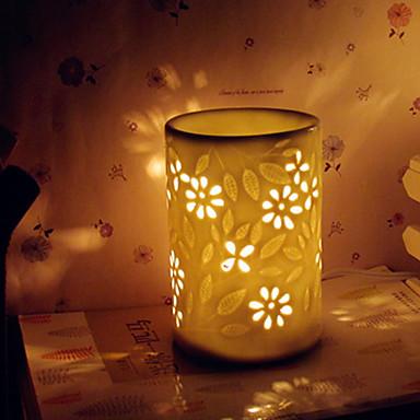 1 개 도자기 에센셜 오일 향기 램프 여자 친구 크리스마스 선물