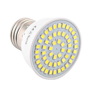 E26/E27 LED 스팟 조명 MR16 54 LED가 SMD 2835 장식 따뜻한 화이트 차가운 화이트 400-500lm 2800-3200/6000-6500K 9-30V
