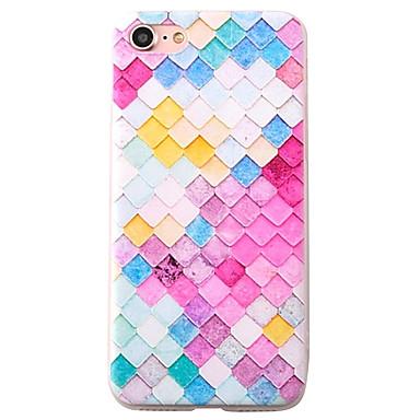 용 패턴 케이스 뒷면 커버 케이스 동물 소프트 TPU Apple 아이폰 7 플러스 / 아이폰 (7) / iPhone 6s Plus/6 Plus / iPhone 6s/6