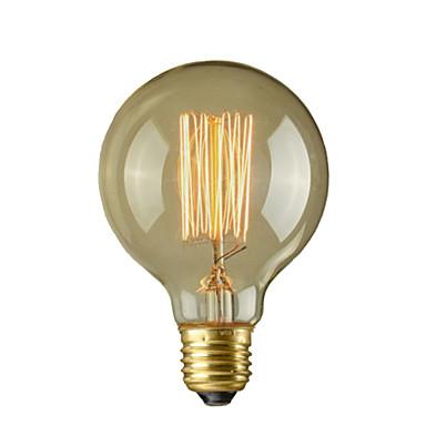 1pc 40 W E26 / E26 / E27 / E27 G95 Sıcak Beyaz 2300 k Incandescent Vintage Edison Ampul 110-220 V / 220-240 V / 110-130 V