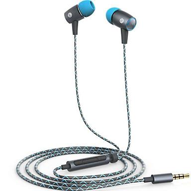Huawei am12 plus Fülben Vezetékes Fejhallgatók Aluminum Alloy Mobiltelefon Fülhallgató A hangerőszabályzóval Mikrofonnal Fejhallgató