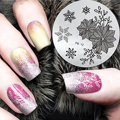 1 Szablon tłoczenia paznokci Codzienny Modny Wysoka jakość