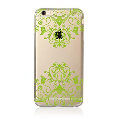 Case Kompatibilitás Apple iPhone X iPhone 8 Plus iPhone 7 iPhone 6 iPhone 5 tok Áttetsző Minta Hátlap Mandala Puha TPU mert iPhone X
