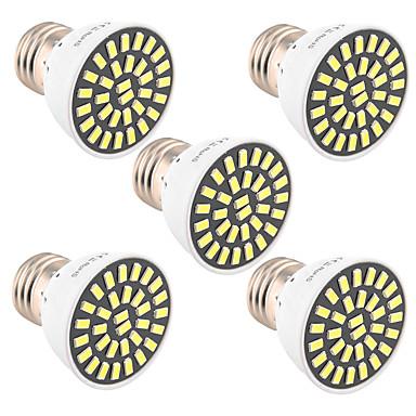 7W E26/E27 LED szpotlámpák T 32 SMD 5733 500-700 lm Meleg fehér / Hideg fehér Dekoratív V 1 db.