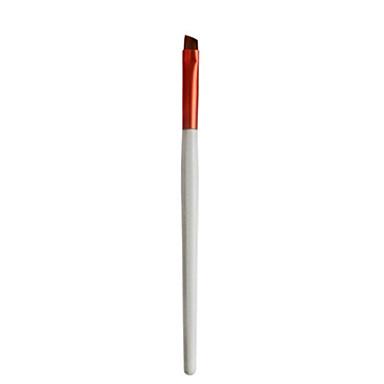 브로우 브러쉬 아이라이너 브러쉬 합성 섬유 휴대용 전문가용 플라스틱 눈