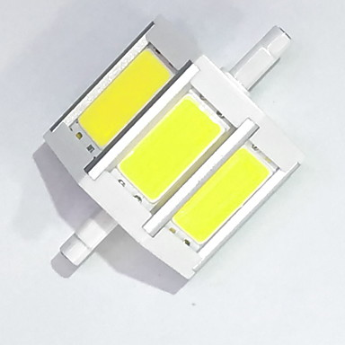450lm R7S LED kukorica izzók T cob LED LED gyöngyök COB Dekoratív Meleg fehér / Hideg fehér 85-265V