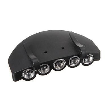 5LEDヘッドライトヘッドランプ懐中電灯キャップ帽子トーチライトランプ屋外の釣りキャンプ狩猟クリップオン超高輝度