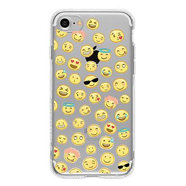 Case Kompatibilitás Apple iPhone 6 iPhone 7 Plus iPhone 7 Minta Fekete tok Rajzfilm Puha TPU mert iPhone 7 Plus iPhone 7 iPhone 6s Plus