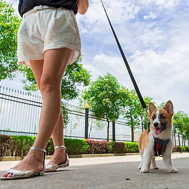 하니스 강아지용 자동차 시트 하네스 /강아지 안전 하네스 조절 가능/리트랙터블 방수 통기성 자동차용 달리기 조끼 솔리드