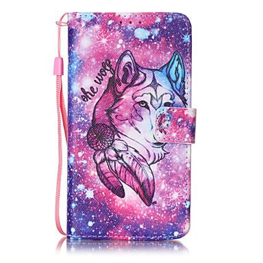 케이스 제품 LG LG의 K7 지갑 카드 홀더 플립 패턴 풀 바디 동물 하드 PU 가죽 용