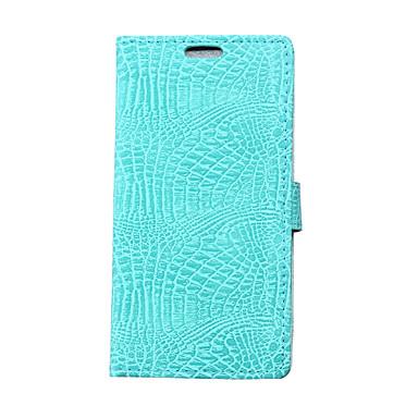 용 지갑 / 카드 홀더 / 스탠드 / 플립 케이스 풀 바디 케이스 단색 하드 인조 가죽 Samsung S6 edge plus / S6 edge / S6