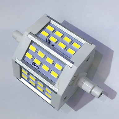400 lm R7S Żarówki LED kukurydza T 24LED Diody lED SMD 5730 Dekoracyjna Ciepła biel Zimna biel AC 85-265V