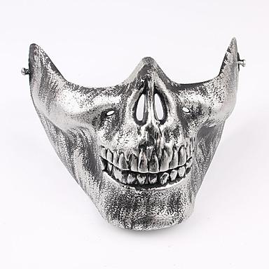 1db halloween jelmez fél maszk