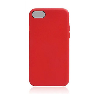Kılıf Na iPhone 7 Plus iPhone 7 Apple iPhone 7 Plus iPhone 7 Ultra cienkie Czarne etui Solid Color Miękkie TPU na iPhone 7 Plus iPhone 7