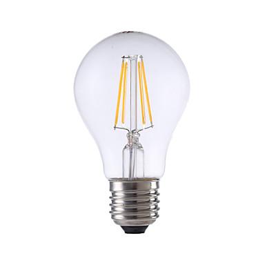 GMY® 560lm E26 / E27 LED-hehkulamput A60(A19) 4 LED-helmet COB Lämmin valkoinen 220-240V