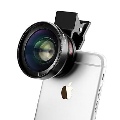 37mm 0.45x nagylátószögű klip iphone lencse iPhone / Android okostelefon kamera
