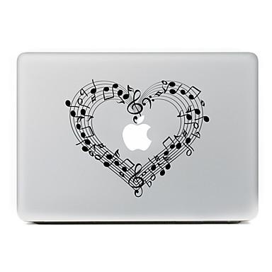 1개 스킨 스티커 용 스크래치 방지 애플로고 관련 패턴 PVC MacBook Pro 15'' with Retina MacBook Pro 15'' MacBook Pro 13'' with Retina MacBook Pro 13'' MacBook