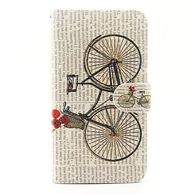 Wiko lenny 3 lenny 2 kerékpár mintás pu bőr teljes test tok állvány és kártya slot wiko lenny 2 lenny 3 naplemente 2
