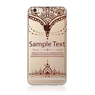 케이스 제품 Apple iPhone X iPhone 8 Plus iPhone 7 iPhone 6 아이폰5케이스 반투명 패턴 뒷면 커버 만다라 소프트 TPU 용 iPhone X iPhone 8 Plus iPhone 8 아이폰 7 플러스 아이폰