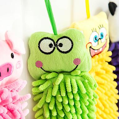 ręcznik ręczniki piękne zwierzę deseń rękę czuć i serwet włókna (losowe kolory)