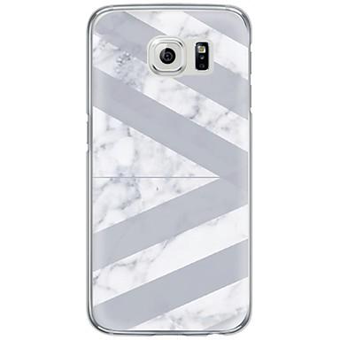 Case Kompatibilitás Samsung Galaxy S7 edge S7 Ultra-vékeny Áttetsző Hátlap Márvány Puha TPU mert S7 edge S7 S6 edge plus S6 edge S6 S5 S4