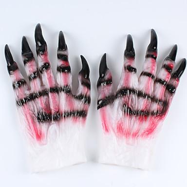 1pc diabeł terrorystyczne pazury wilk na Halloween kostiumach
