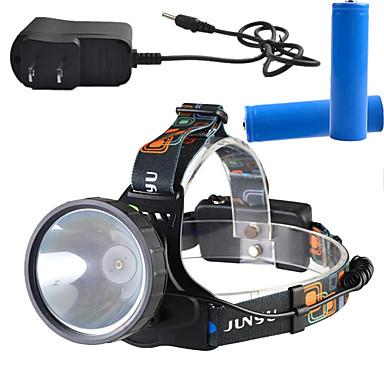 헤드램프 LED lm 3 모드 - 충전기 포함 충전식 밝기조절가능 높은 전력 슈퍼 라이트 캠핑/등산/동굴탐험 일상용 사이클링 사냥 야외 등산 멀티기능 일 여행 낚시